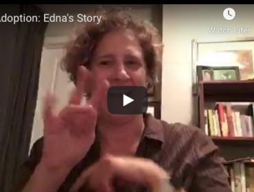 Deaf Transracial Transcountry adoption Edna Johnston