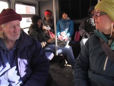 A day in the life of a homeless deaf man
